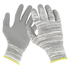 Gant protection coupures Master NBR indice 5 enduction paume et bouts de doigts nitrile gris taille 7 photo du produit