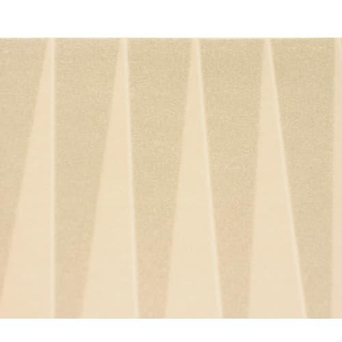 Toque droite non-tissé blanc plis imprimés réglable hauteur 20cm photo du produit Side View L