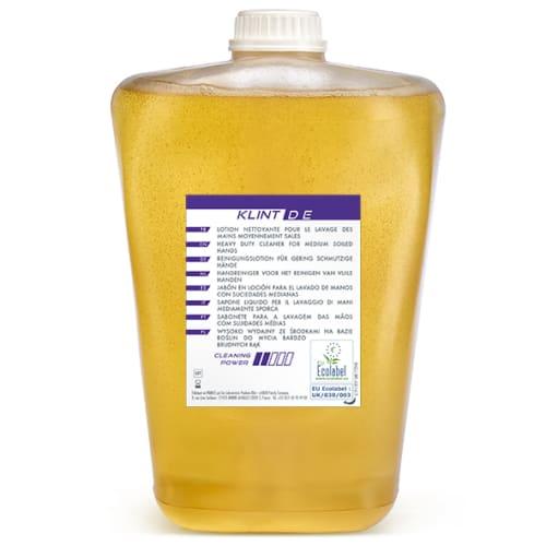 Klint D E lotion lavante d atelier certifiée Ecolabel recharge de 2L photo du produit