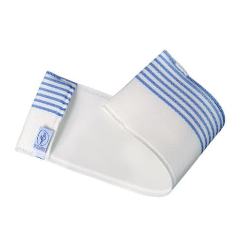 Bandeau microfibre Dispomop Ultimate Spacer blanc/bleu 12 x 41 cm photo du produit