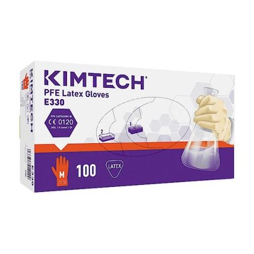 Gant de protection chimique latex Kimtech Science PFE taille M photo du produit Side View L