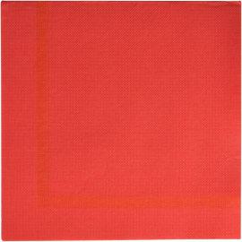 Serviette papier 2 plis 38 x 38 cm rouge motif olympia photo du produit