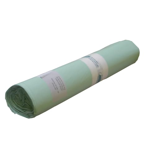 Housse plastique biodégradable 240L vert 24µm photo du produit