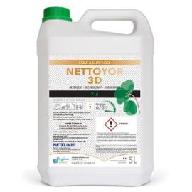 Nettoyor 3D détergent désinfectant surodorant pin bidon de 5L photo du produit