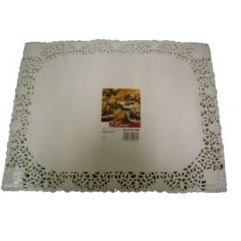 Set de table papier 35 x 45 cm blanc photo du produit