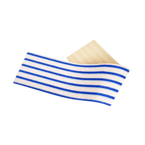 Bandeau microfibre Dispomop 3D blanc/bleu 11,5 x 50 cm photo du produit