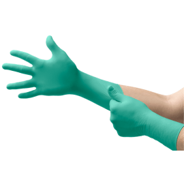 Gant à usage unique stérile Néoprène Dermashield 73-711 vert non poudré taille 9 photo du produit
