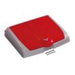 Couvercle pour support sac 150L PLP rouge avec compartiment photo du produit
