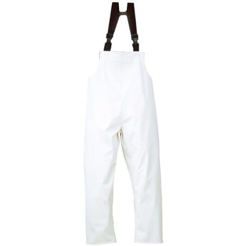 Cotte à bretelles Quimper imperméable polyester enduit polyuréthane blanc taille L photo du produit