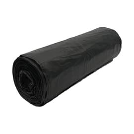 Sac plastique PE HD Héracène 130L noir 17µm photo du produit