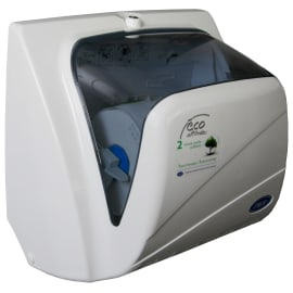 Distributeur d essuie-mains rouleaux Paredis Evolution blanc fermeture à clé photo du produit