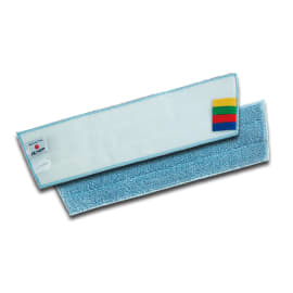 Bandeau de lavage microfibre blanc/bleu 40 x 13 cm photo du produit