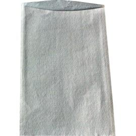 Gant de toilette non-tissé plastifié bleu 23 x 15 cm Heavy ouverture décalée photo du produit
