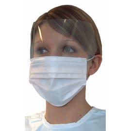 Masque médical Op R Splash PREMIUM type IIR bleu à lanières photo du produit