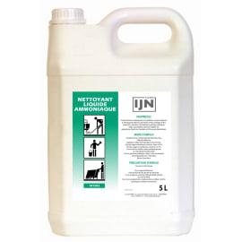 IJN nettoyant liquide ammoniaqué bidon de 5L photo du produit
