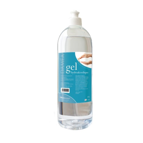 Daméa gel hydroalcoolique flacon de 1L photo du produit