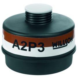 Cartouche anti-gaz A2P3 pour masque anti-gaz à système cartouche Honeywell standard RD40 photo du produit
