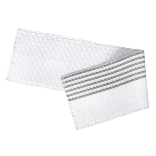 Bandeau de lavage Ultimate 3D Infinite blanc/gris 11,5 x 50 cm photo du produit