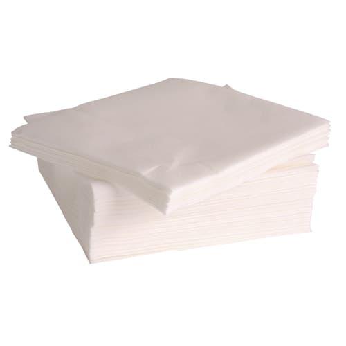 Serviette non tissé Célisoft 40 x 40 cm blanc photo du produit