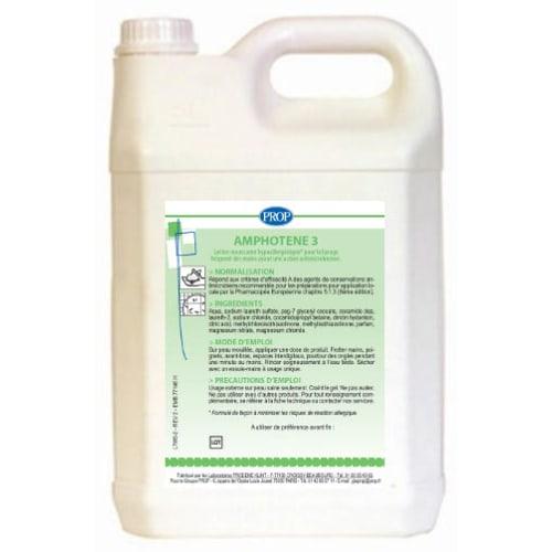 PROP Amphotène 3 lotion lavante bidon de 5L photo du produit