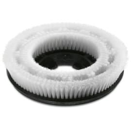 Brosse disque très souple blanche Ø300mm pour autolaveuse Karcher photo du produit