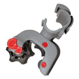 Accroche balai PLP réglable pour tube Ø22mm photo du produit
