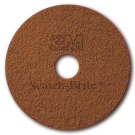 Disque terre de sienne 3M pour autolaveuse et monobrosse Ø406mm photo du produit