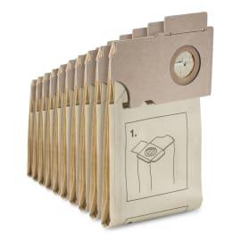 Sac filtrant papier pour aspiro-brosseurs Karcher photo du produit