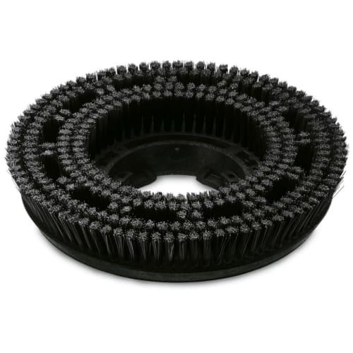 Brosse disque dure noire Ø300mm pour autolaveuse Karcher photo du produit