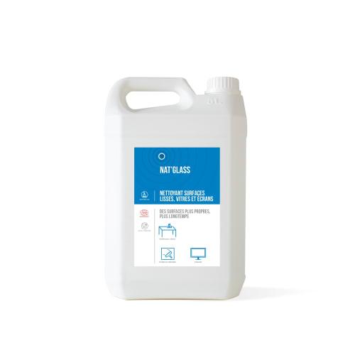 HTS BIO Nat glass nettoyant vitres certifié ECOCERT bidon de 5L photo du produit