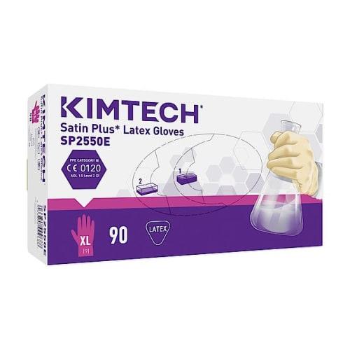 Gant de protection chimique latex Kimtech Science Satin Plus taille XL photo du produit Side View L