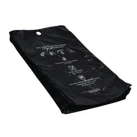 Sac-gant plastique pour déchets canins noir 12µm photo du produit