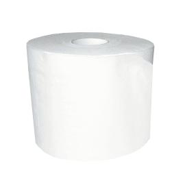 Papier toilette petit rouleau blanc 2 plis 320 feuilles 9,8 x 11,3 cm certifié Ecolabel photo du produit