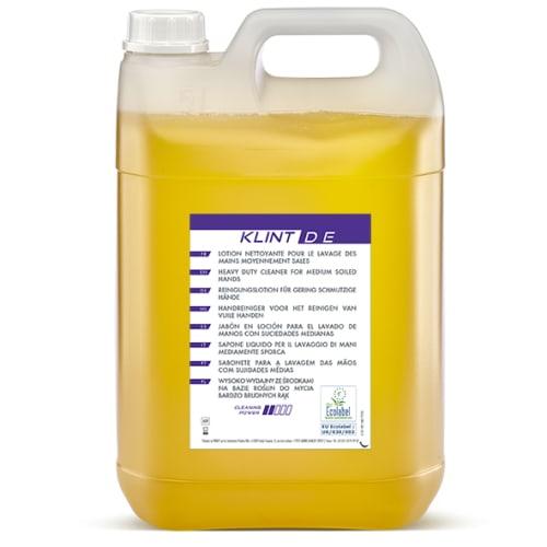 Klint D E lotion lavante d atelier certifiée Ecolabel bidon de 5L photo du produit
