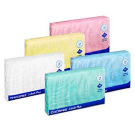 Mini lavette non tissée medium bleue 50g/m² 34 x 36 cm photo du produit