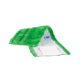 Bandeau de lavage microfibre Ultimate duo vert 43 x 14 cm à languettes photo du produit