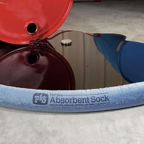 Boudin absorbant universel PIG® Blue Pig 122 x 8 cm photo du produit Back View L
