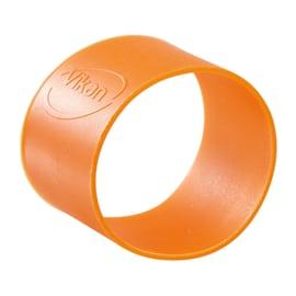 Collier d identification caoutchouc Ø4cm orange photo du produit