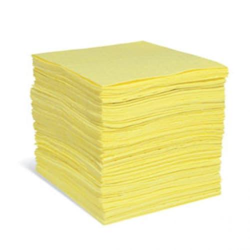 Absorbant en feuilles PIG® Essentials Pro triple épaisseur pour produits chimiques 38 x 48 cm photo du produit