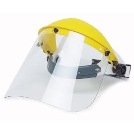 Calotte et écran de protection polycarbonate classique jaune photo du produit