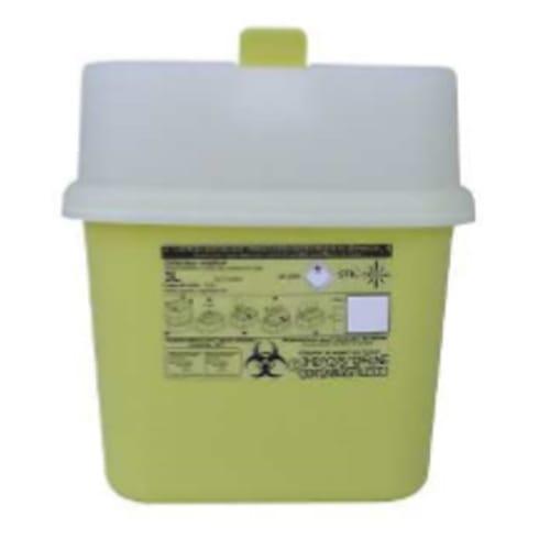 Collecteur boîte à aiguilles DASRI 3L NF X photo du produit