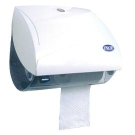 Distributeur de papier toilette blanc 2 petits rouleaux photo du produit