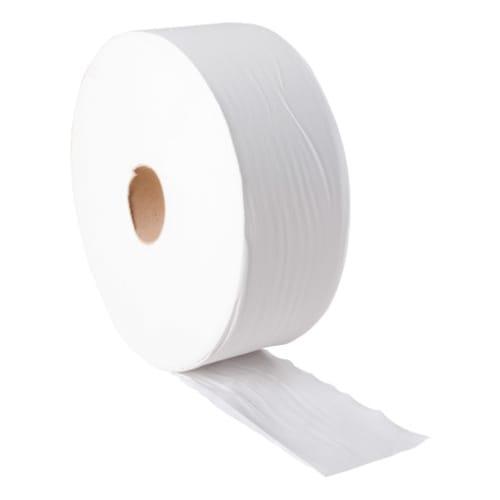 Papier toilette rouleau prédécoupé ouate blanche 2 plis 380m certifié Ecolabel photo du produit