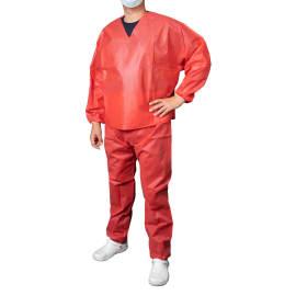 Set pantalon et marinière PLP 50g/m² rouge taille L photo du produit