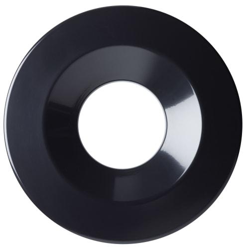 Couvercle antifeu pour poubelle 90L Ø318mm noir photo du produit Back View L