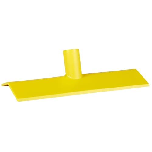 Grattoir poussoir alimentaire polyamide 27cm jaune photo du produit