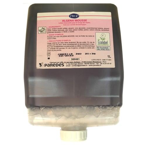 PROP Algena mousse lavante certifiée Ecolabel recharge de 1L photo du produit