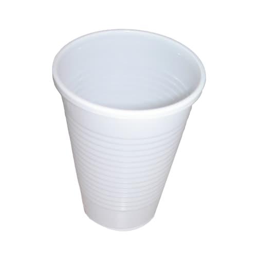 Gobelet plastique 16cl blanc photo du produit