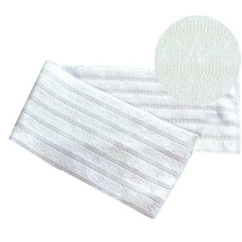 Bandeau microfibre Dispomop lignée blanc 49,5 x 11,5 cm pour sols poreux photo du produit