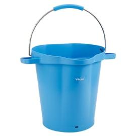 Seau gradué alimentaire PLP 20L bleu photo du produit